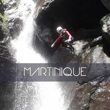 Martinique Canyoning